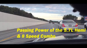 dodge charger 8 speed 60 80 mph passing power dodge charger rt 8 speed vs 5 speed