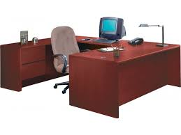 hon u shaped office desk w left pedestal credenza hon 3100l