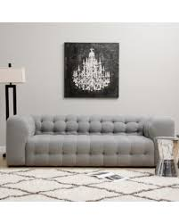 fall is here get this deal on sackville nova steel linen sofa