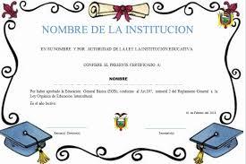 diplomas de primaria descargar diplomas de primaria plantillas de diplomas para terminación de primaria