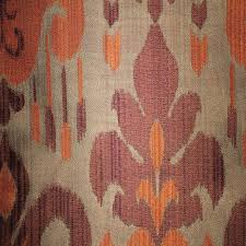 home decor fabrics by the yard baron jacquard ikat designer pattern home decor drapery fabric