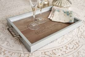 Upcycle Laminate Furniture - vintage upcycled laminate serving tray