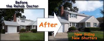 Home Exterior Remodel - exterior interior building makeovers by rehab associates ny nj ct