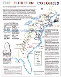 the thirteen colonies map the thirteen colonies map maps for the classroom