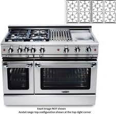 48 Inch Cooktop Gas Capital Mcr488n 48 Inch Precision Series Gas Freestanding Range