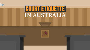 tips on how to behave in and for the courtroom in australia youtube