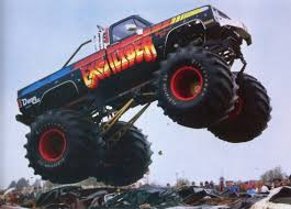 monster truck videos for vintage excalibur monster truck videos