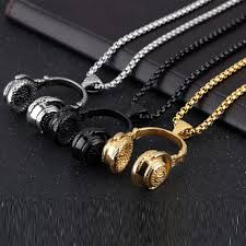 necklaces for titanium steel beat necklaces for men shopinux