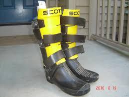 motocross boots size 9 vintage scott boots