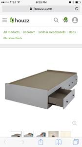 South Shore Step One Platform Bed With Drawers King Chocolate Best 20 Transitional Platform Beds Ideas On Pinterest