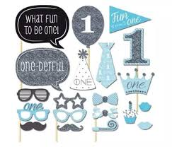 photo booth prop photo booth prop set for 1 year birthday to be one 20