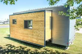 tiny house slide out robust tiny house has slide outs that help it expand to 374 sq ft