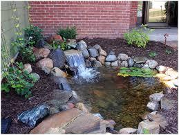 backyards splendid pictures backyard waterfalls stream flowing