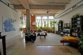 Concrete Loft Refreshing Industrial Loft Apartment Decorating Selection Showing