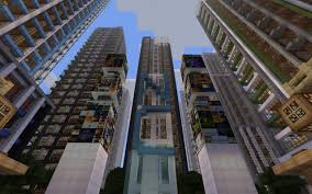New York City Map For Minecraft by Downtown New Crafton Finished Minecraft Project