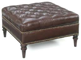 large leather tufted ottoman wonderful leather tufted ottoman marvelous leather tufted ottoman
