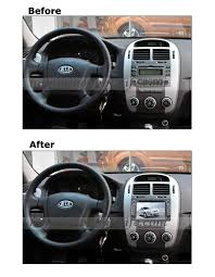 android kia sportage dvd player gps navigation wifi 3g bt