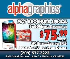 500 Business Cards For Free Alphagraphics Of Modesto Home Facebook