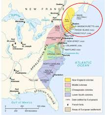 New England Colonies Map by Bkushistory Licensed For Non Commercial Use Only Radicals In