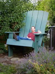 Make Your Own Wood Patio Chairs by Giant Adirondack Chair Plans Read The Stories And The Comments