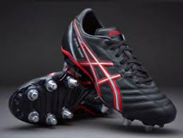 s rugby boots uk asics lethal charge s rugby boots black size uk 8 5 eu 43 5