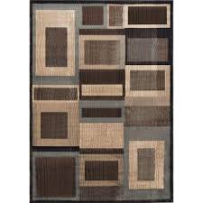 Bazaar Home Decorating Home Dynamix Bazaar Gal 1196 Black Brown 7 Ft 10 In X 10 Ft 1
