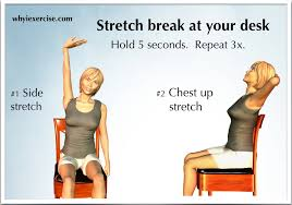 Computer And Desk Stretches Lower Back Pain Remedy An Illustrated Guide