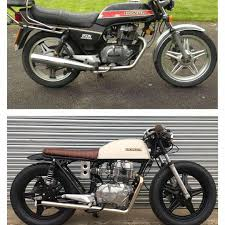 honda cb 250 caferacer bratstyle honda motorcycle on instagram brat pj cb 400