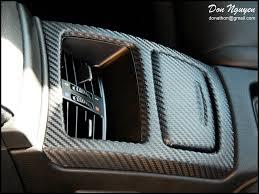 Car Interior Carbon Fiber Vinyl Bmw E92 328i Coupe Matte Carbon Fiber Interior Vinyl Wrap