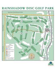 Sequim Washington Map by Rainshadow Disc Golf Park