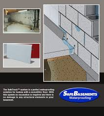 Interior Waterproofing Interior Waterproofing Systems Ne Interior Basement
