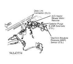 1994 dodge dakota blower motor resistor location interior problem