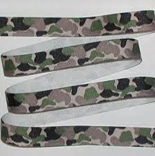 camouflage ribbon camouflage ribbon camo grosgrain green beige black
