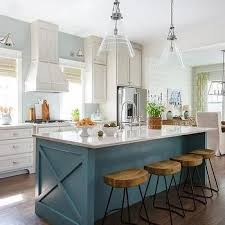 contrasting kitchen islands white kitchen island appliance garage i prefer the cut out over the bar overhang blue kitchen island with