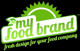 home and design logo food company website design and development my food brand