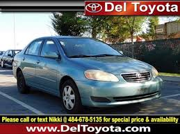 2005 toyota corolla le for sale used 2005 toyota corolla le for sale serving thorndale
