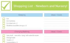 newborn baby necessities new baby nursery checklist newborn essentials bub hub