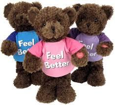 feel better bears well feel better singing i feel blue