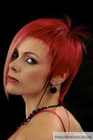 Kurzhaarfrisuren Rot by Mittellange Frisuren Haarfrisur Für Damen In Rot Bei Frisuren Org