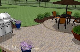 Patio Layout Design Beautiful Brick Paver Patio Design Ideas Brick Patio Layout Ideas