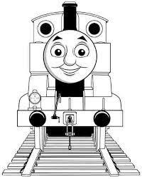 cartoon thomas train friends coloring pages free boys