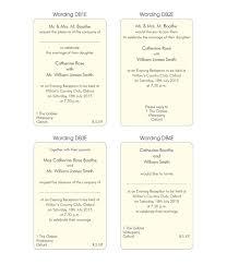 sle wedding invitation wording sle wording for evening wedding invitations 28 images best 25