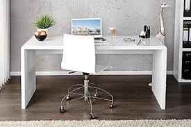 White High Gloss Computer Desk Enzo White High Gloss Computer Pc Home Executive Study Office