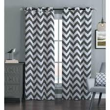 Black Grey And White Curtains Ideas Grey And White Blackout Curtains Pretty Yellow Chevron