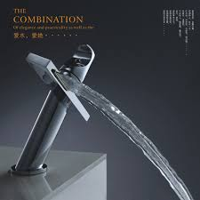 compare prices on modern bathroom taps online shopping buy low bakala modern washbasin design bathroom faucet mixer waterfall hot and cold water taps for basin of
