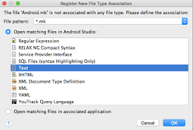 android file associations how to create a c library with ndk on android studio intellij