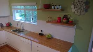 l shape kitchen decoration using white subway tile kitchen