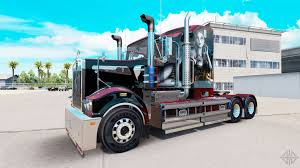 american truck kenworth skin sally on tractor kenworth t908 for american truck simulator
