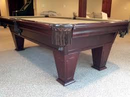 brunswick brighton pool table 8 brunswick ventura iii used pool table