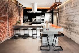 Jennifer Reynolds Interiors Mainland St Bachelor Pad Industrial Kitchen Vancouver By